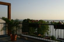 Výhled z apartmánu
